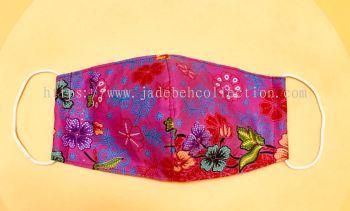 FM038 - 3 Layers Reusable Batik Face Mask