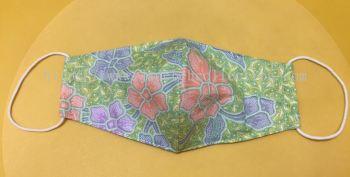 FM040 - 3 Layers Reusable Batik Face Mask