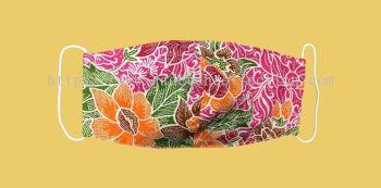 FM043 - 3 Layers Reusable Batik Face Mask