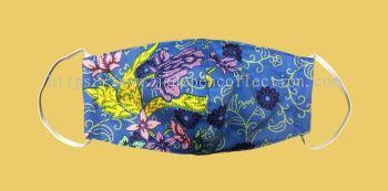 FM044 - 3 Layers Reusable Batik Face Mask