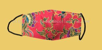 FM052 - 3 Layers Reusable Batik Face Mask