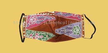 FM059 - 3 Layers Reusable Batik Face Mask