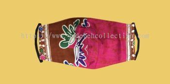FM060 - 3 Layers Reusable Batik Face Mask