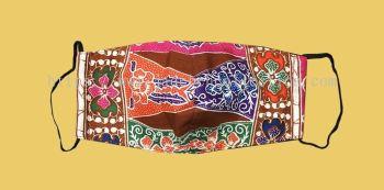 FM061 - 3 Layers Reusable Batik Face Mask