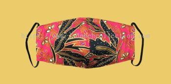 FM062 - 3 Layers Reusable Batik Face Mask