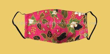 FM063 - 3 Layers Reusable Batik Face Mask