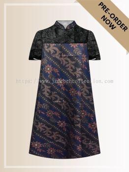 BTK(D)068 Batik A Line Midi Dress