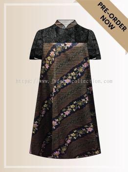 BTK(D)075 Batik A Line Midi Dress