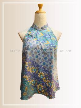 BTK(T)070 Batik A Line Qipao Top