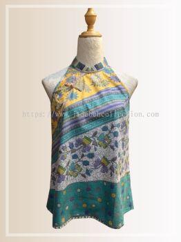 BTK(T)071 Batik A Line Qipao Top