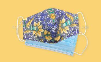 FM070 - 3 Layers Reusable Batik Face Mask