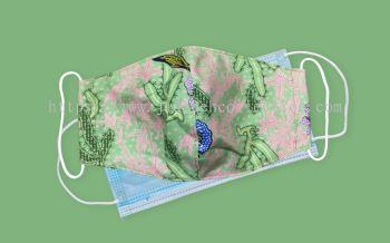 FM076 - 3 Layers Reusable Batik Face Mask
