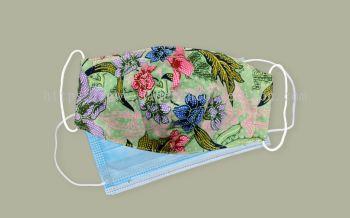 FM077 - 3 Layers Reusable Batik Face Mask