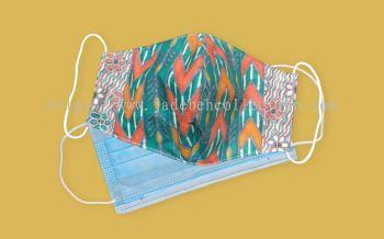 FM079 - 3 Layers Reusable Batik Face Mask