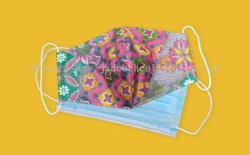 FM081 - 3 Layers Reusable Batik Face Mask