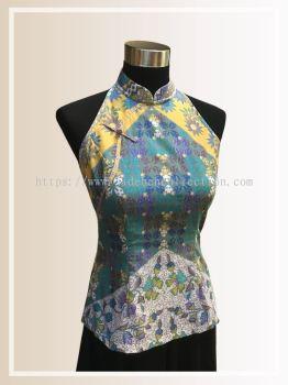 BTK(T)079 Batik Cut in Top - Fitting