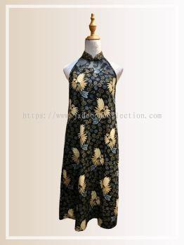 BTK(D)127 Batik & Lace Cut in Maxi Dress