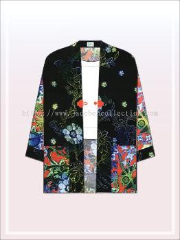 K001 Batik Kimono Jacket (Long)
