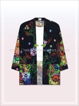 K002 Batik Kimono Jacket (Long)