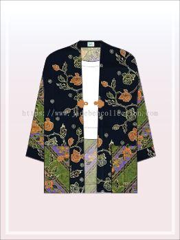 K005 Batik Kimono Jacket (Long)