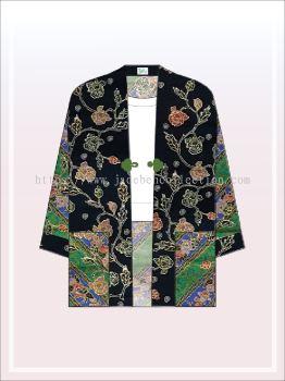 K007 Batik Kimono Jacket (Long)
