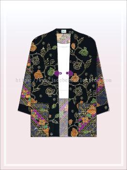 K008 Batik Kimono Jacket (Long)