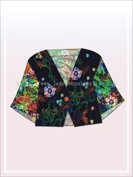 K019 Batik Crop Top