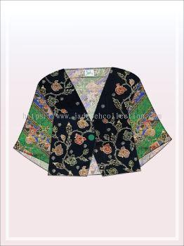 K022 Batik Crop Top