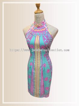 BTK(D)128 Batik Cut Qipao