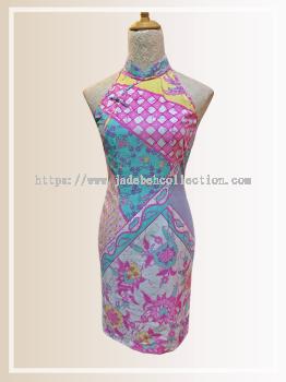 BTK(D)137 Batik Cut Qipao