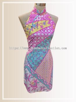 BTK(D)138 Batik Cut Qipao