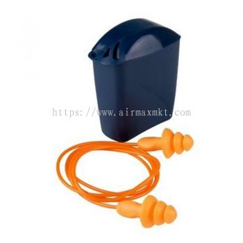 3M Corded Reusable Ear Plugs C-W Storage Case