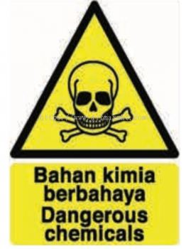 Dangerous Chemicals Signage
