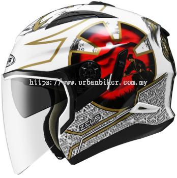 ZEUS ZS-613-White AJ20 Red