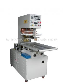 HIGH FREQUENCY ROTARY PLATE BLISTER PACKAGE SEALING MACHINE