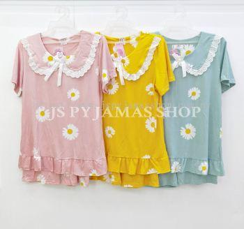 Japanese Kawaii Style doll collar Pyjamas Set
