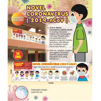 Banner Bestari Novel Coronavirus (2019-nCoV) PK1011M SK/SMK