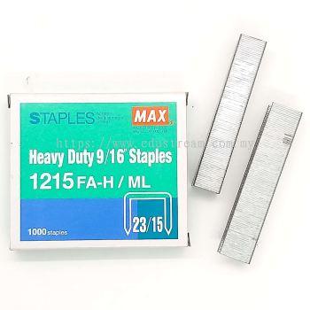 Max Staples 1215-FAH 23/15