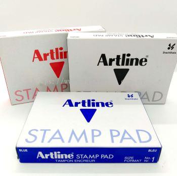 Artline Stamp Pad No.1 (67x106mm)