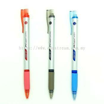 Faber Castell Grip X5 Ball Pen 0.5mm  (2PCS/PACK)