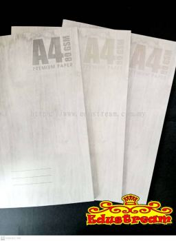 Paper One A4 Single Line Notebook 80GSM