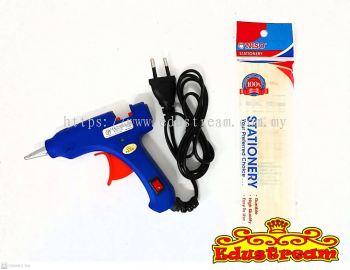 HOT MELT GLUE GUN PISTOLA INCOLLATRICE  8PCS GLUE GUN STICK
