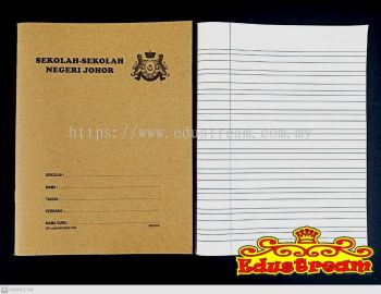 READY STOCK!!!Triple Line Exercise Book 80 Pages