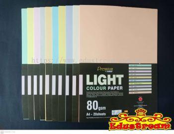 CA 4711 A4 .80GSM  20'S COLOUR PAPER (LIGHT)