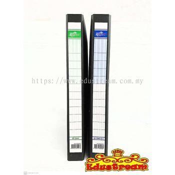 Binder 2D Ring File+Side Clip / 2D Ring File