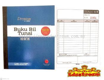 Campap NCR Buku Bil Tunai 3ply x 25 helai �ֵ��� CA 3843