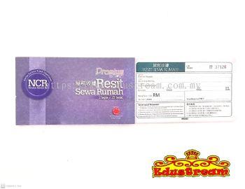 Campap NCR Resit Rumah Sewa �����վ� 2 Lapis x 25 Helai CA 3810