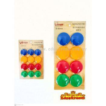 Vstar Magnetic/Magnet Button 4 color 20mm/40mm