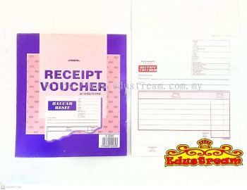 Aero Receipt Voucher / Baucar Resit 50 Sheet Pad  V2280