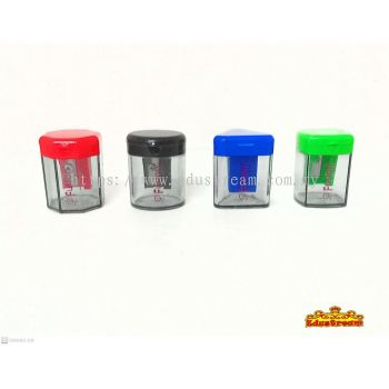 FUSION ONE HOLES  PENCIL SHARPENER ( 3 IN 1 SET )